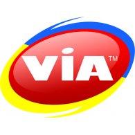 Via logo vector logo