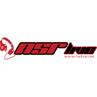 NSR Live logo vector logo