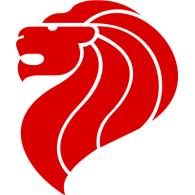 Singapore Lion logo vector logo