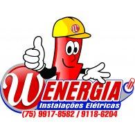 W Energia logo vector logo