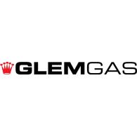 Glem Gas logo vector logo