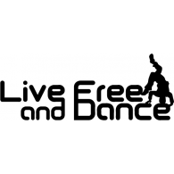Live Free and Dance logo vector logo