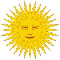 Argentina Sun logo vector logo