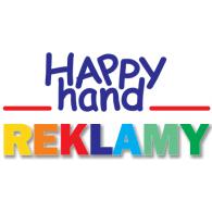 Happy Hand REKLAMY logo vector logo
