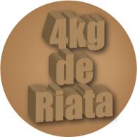 4kg de Riata logo vector logo