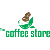 Tea Coffee Store logo vector logo