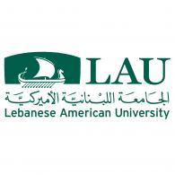 Lebanese American University logo vector logo
