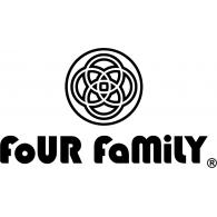 Four Family logo vector logo