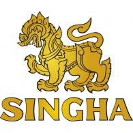 Singha logo vector logo
