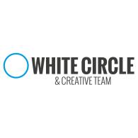 White CIrcle & Creative Team logo vector logo