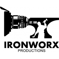 Ironworx logo vector logo