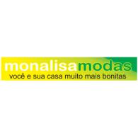 monalisamodas logo vector logo
