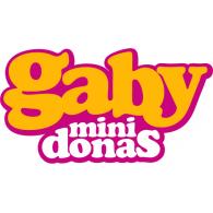 Gaby Mini Donas logo vector logo