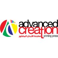 Advanced Creation logo vector logo