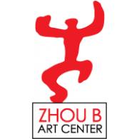 Zhou B Art Center logo vector logo
