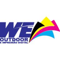 WE outdoor logo vector logo