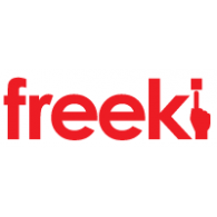 Freeki logo vector logo