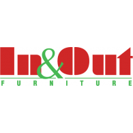 In&Out Furniture logo vector logo