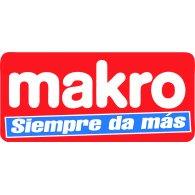 Makro logo vector logo