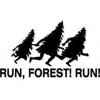 Run Forest Run logo vector logo