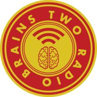 Two Radio Brains logo vector logo