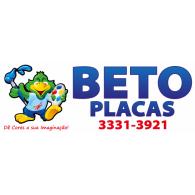 Beto Placas logo vector logo