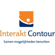 Interakt Contour logo vector logo