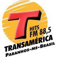Transamerica FM Paranhos MS logo vector logo