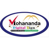 Mohanonda Digital Sign logo vector logo