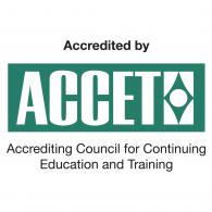 Accet Accreditation logo vector logo