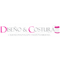 DISEÑO Y COSTURA logo vector logo