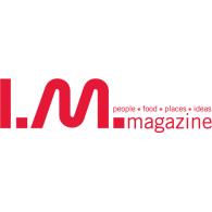 IM Magazine logo vector logo