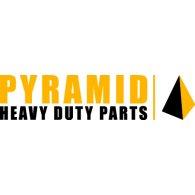 Pyramid logo vector logo