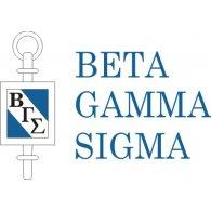 Beta Gamma Sigma logo vector logo