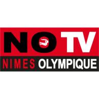 NO TV logo vector logo