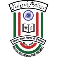 Maulana Azad National Urdu University logo vector logo