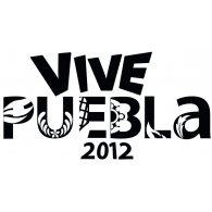Vive Puebla 2012 logo vector logo