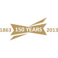 FA Team 150 years logo vector logo