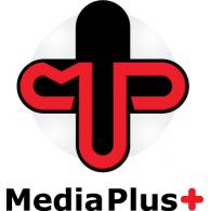 Media Plus+ logo vector logo