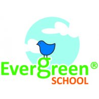 Evergreen School logo vector logo