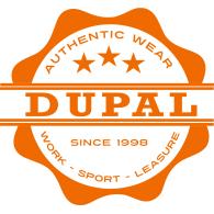 Dupal Workwear logo vector logo