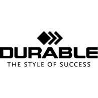 Durable logo vector logo