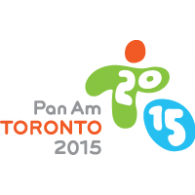 Pan Am Toronto 2015 logo vector logo