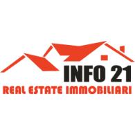 Info 21 logo vector logo