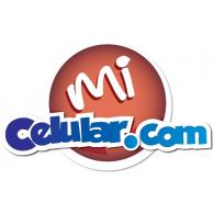 mi celular logo vector logo