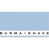 Burma Shave logo vector logo