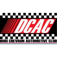 Duri Chevron Automotive Club logo vector logo
