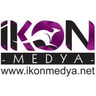 ikon medya logo vector logo