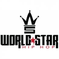 World Star hiphop logo vector logo