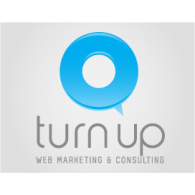 Turn Up logo vector logo